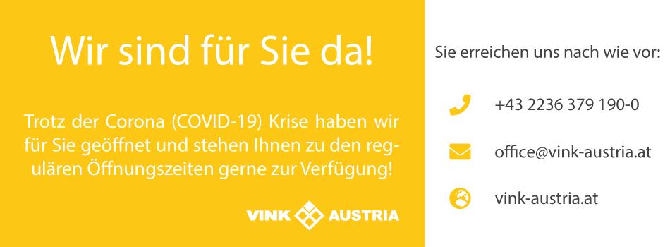 Corona Virus Update - Vink Austria
