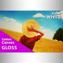 Bild von Cotton Canvas Super White glossy