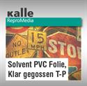 Bild von Solvent PVC Folie klar gegossen T-P