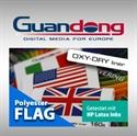 Bild von Polyester Flag mit OXY-DRY-Liner für HP Latex