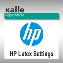 Bild von HP Latex Settings