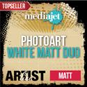 Bild von MediaJet® PhotoArt White Matt Duo