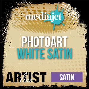 Bild von MediaJet® PhotoArt White Satin