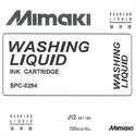 Bild von Mimaki Washing Liquid - Solvent Rollendrucker
