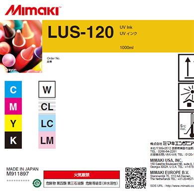 Bild von Mimaki Tinte LUS120 UV 1000ml