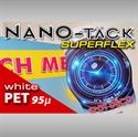 Bild von Nano-Tack SuperFlex weiss PET 95 my