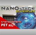 Bild von Nano-Tack SuperFlex transparent PET 95 my