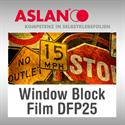 Bild von ASLAN Window Block Film DFP25